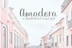 Amadora Script Product Image 1