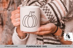 Pumpkin SVG Bundle Halloween Polka Dot Pumpkin Boo Svg Product Image 5