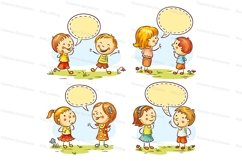 Kids talking and showing emotions Product Image 1