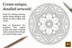 Vector Mandala Creator PRO for Illustrator Product Image 3
