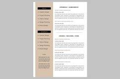 Creative resume template / CV. Bundle offer Product Image 3