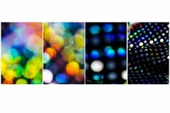 20 Sequin Bokeh Shiny Dots and Spots Background Product Image 3