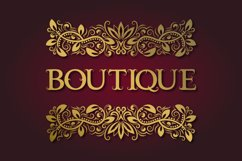 Vintage font with curls Product Image 2
