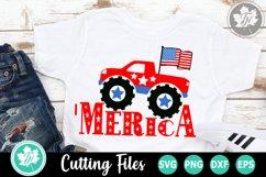 'Merica - An Americana SVG Cut File Product Image 1