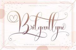 Brilganttyne - Modern Calligraphy Font Product Image 1