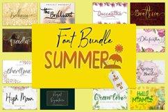 Summer Font Bundle Product Image 1