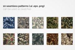 USA Flecktarn Camouflage Patterns Product Image 3