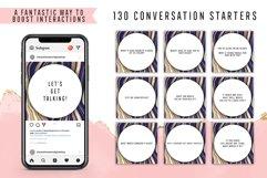 130 Social Media Conversation Starters Version 11 Product Image 1