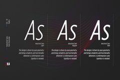 Industrial Sans Typeface Product Image 4