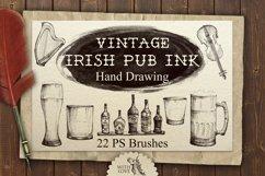 Irish Pub Ink Vintage PS Brushes Product Image 1