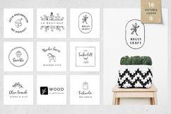 Magic Winter script font duo & logos Product Image 2