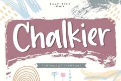 Chalkier Fun Handwritten Font Product Image 1
