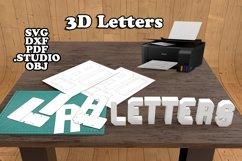 3d Alphabet Product Image 1