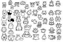Fun & Cute Hand Drawn Vector Pack +Patterns Product Image 2