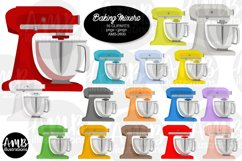Baking clipart, cooking clipart, Mixers, graphics AMB-2800 Product Image 1