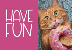 Sprinkled Donut - A Handwritten Font Product Image 4