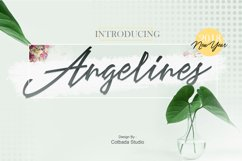 Angelines Script Product Image 1