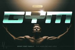 GYM Awesome Font Product Image 1