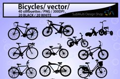 bicycle silhouette svg / Bicycles / bicycle / bicycle riders Product Image 2
