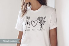 Peace Love Wildflower Product Image 3