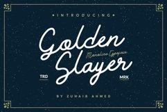 Golden Slayer - Monoline Typeface Product Image 1