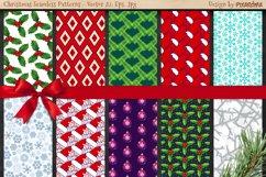 50 Christmas Seamless Patterns Product Image 5