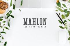 Mahlon Serif 3 Font Family Pack Product Image 1