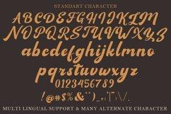 Sagha A Modern Script Typeface Product Image 10