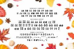 Web Font Time Too Leaf Font Product Image 3