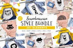 BUNDLE! Scandinavian Style Animal Bundle - SVG Cut Files Product Image 1