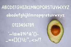 Avocado Toast A Hand-Lettered Breakfast Font Product Image 2