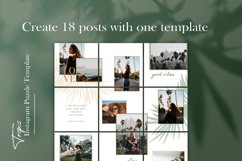 Instagram Puzze Template, Canva, Bloggers Instagram Grid Product Image 6