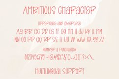 Ambitious - Fun Sans Serif Font Product Image 5