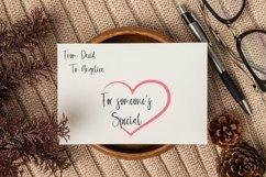 Web Font Letterhead - Handwritten Font Product Image 5