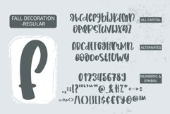 Fall Decoration - A quirky family font Product Image 4