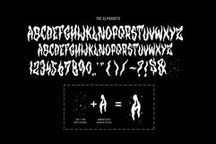 Horror Fonts | Hantu By tomatstudio Product Image 2