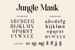 Jungle Mask - Modern Font Product Image 3