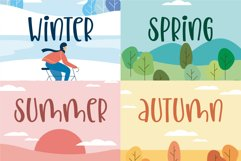 Homeschool Mom - A quirky handwritten font Product Image 3