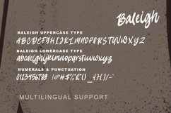 Baleigh Bold Calligraphy Product Image 5