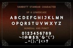 Vanrott - Old Style Font Product Image 5