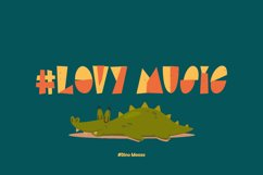 Dino Moose - a Playful Font Product Image 2