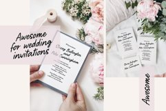Pretty Letters / handwritten font Product Image 6
