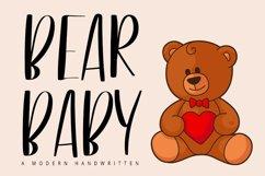 Bear Baby | A Modern Handwritten Product Image 1
