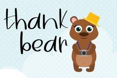 Brown Bear| A Fun Handwritten Font Product Image 3