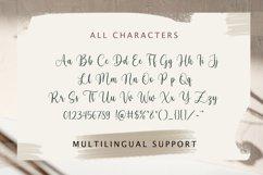 Mayoras - Handwriting Script Font, Cricut font, silhouette Product Image 3