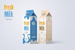 Sneak Peak - A Fun Display Font Product Image 5