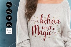 Believe in the Magic CHRISTMAS SVG for Cricut Product Image 1