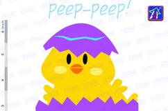 Easter chicks clip art - Easter clipart - Easter images Product Image 5
