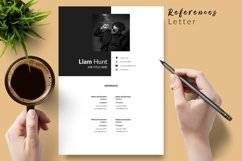 Modern Resume CV Template for Word & Pages Liam Hunt Product Image 6