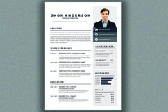 Resume Template Product Image 4